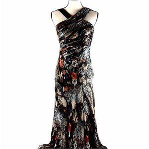 Ipekyol Women's Silk Long Embellished Dress Size 6